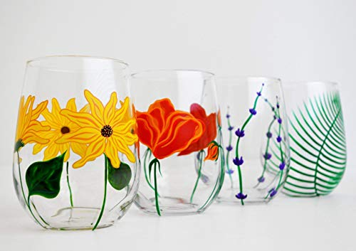 Customise your glassware with unique patterns. Create novel pieces to brighten up your home & impress your guests.