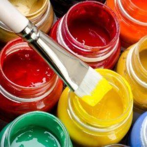 Acrylic Paint Jar