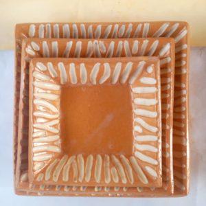 Square Plates Set