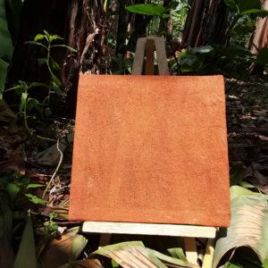 Bark Cloth Frame