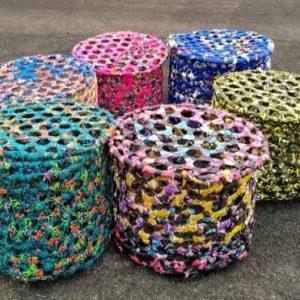 Recycled Kitenge Basket